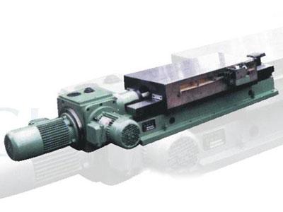 机械滑台又分a,b型,采用高牌号铸铁或镶刚结构